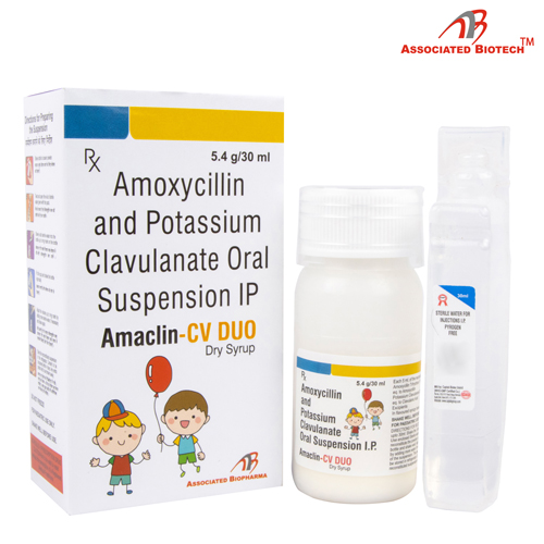 AMACLIN-CV DUO Dry Syrup