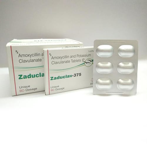 ZADUCLAV-375 Tablets