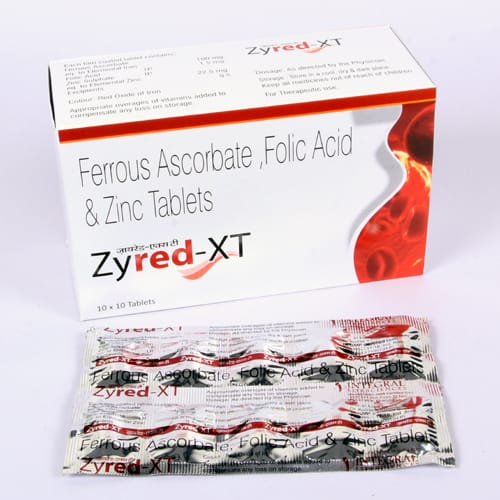 ZYRED- XT Tablets
