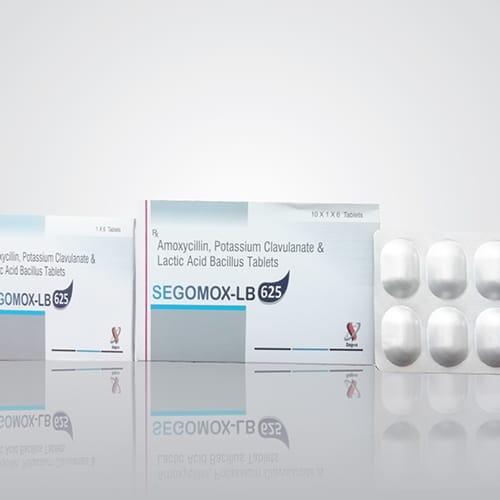 SEGOMOX-LB 625 Tablets