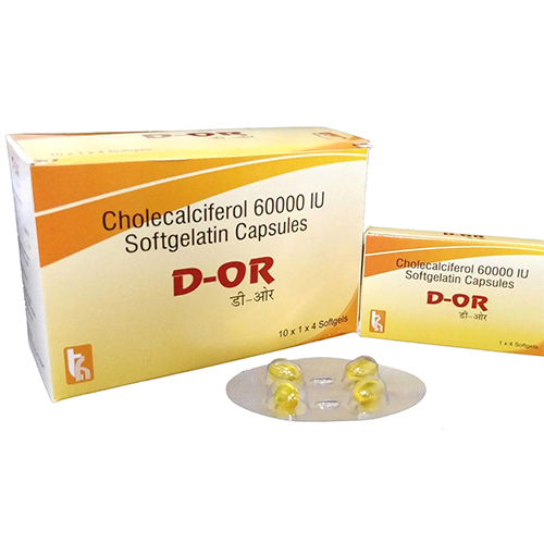 D-OR Softgel Capsules