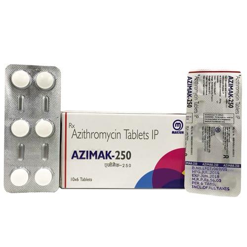 AZIMAK-250 Tablets
