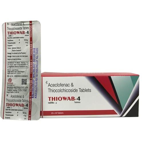THIOWAB-4 Tablets
