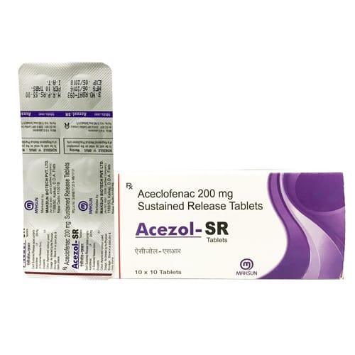 ACEZOL-SR Tablets