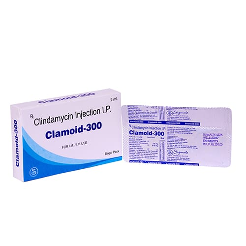 CLINDAMYCIN INJECTION I.P. 2ml Liq. Injection