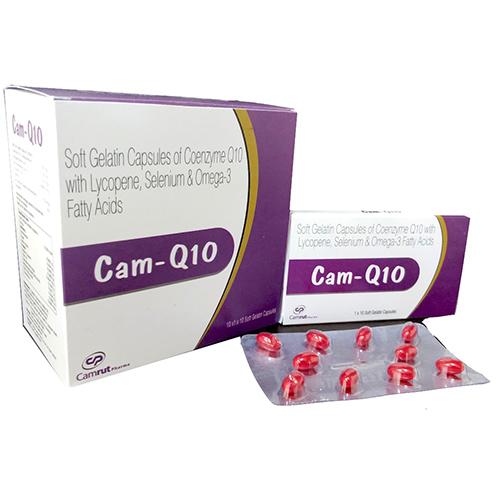 CAM-Q10 Softgel Capsules