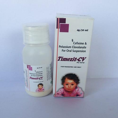 TIMEZIT-CV Dry Syrups