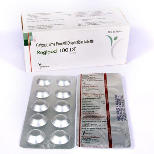 Regipod-100 DT Tablets