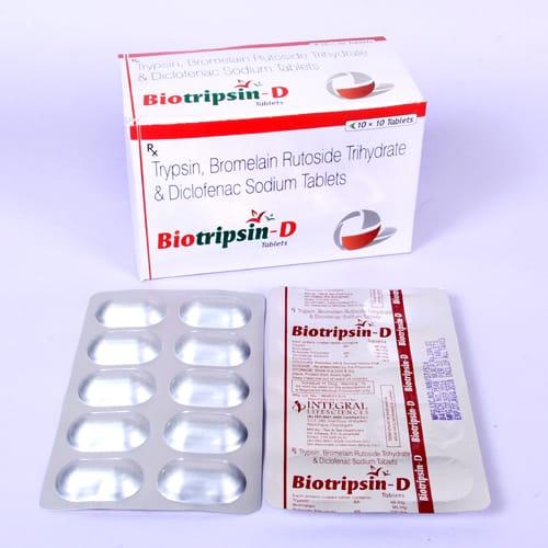 BIOTRIPSIN-D Tablets