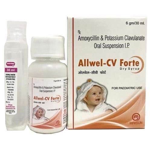 ALLWEL-CV FORTE Dry Syrup