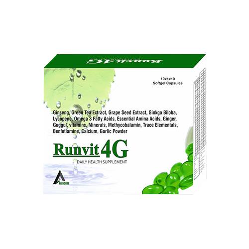 RUNVIT-4G Softgel Capsules