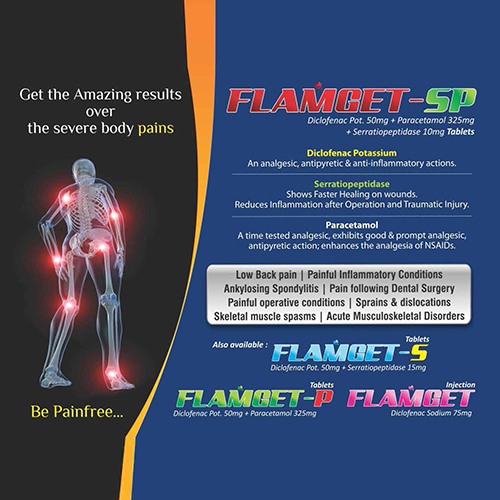 FLAMGET-SP Tablets