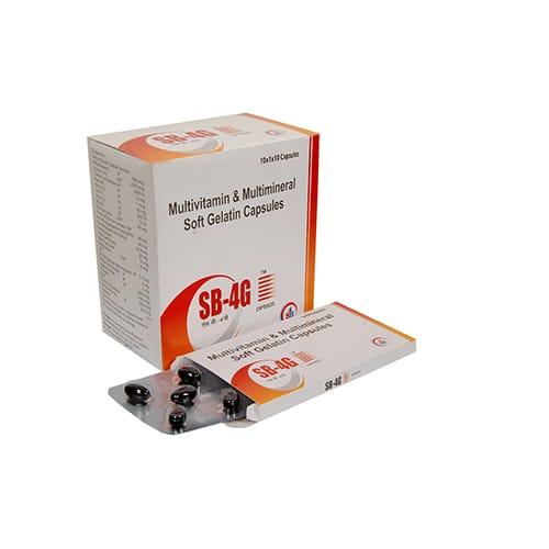 SB-4G Soft Gelatin Capsules