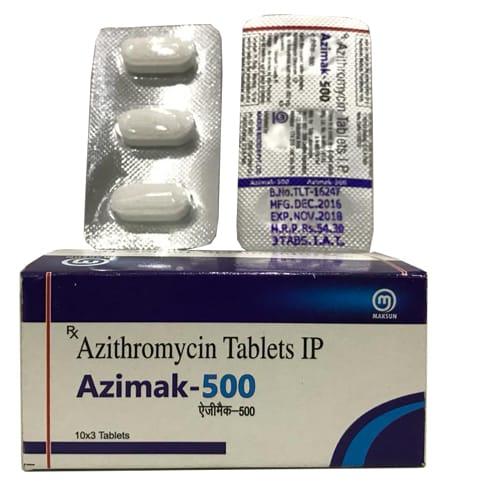 AZIMAK-500 Tablets