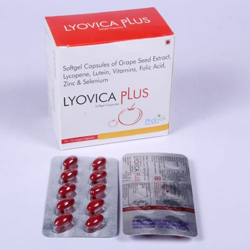 LYOVICA PLUS SoftGel Capsules