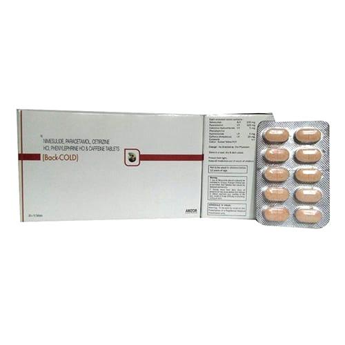 BACK-COLD Tablets