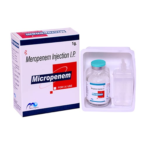 MEROPENEM 1000mg Dry Injection