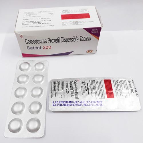 SETCEF-200 Tablets