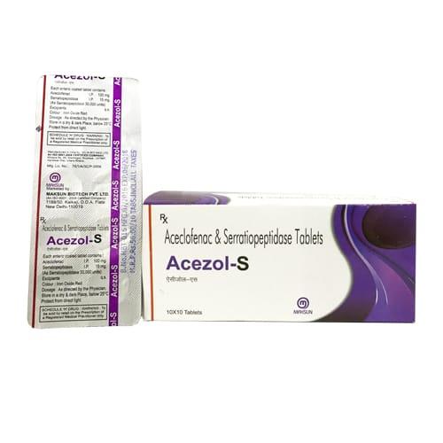 ACEZOL-S Tablets