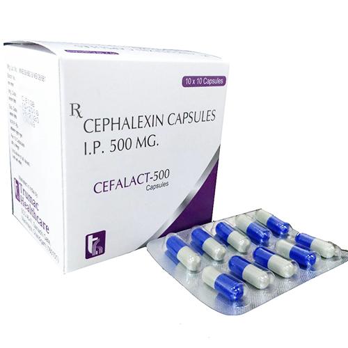 CEFALACT-500 Capsules
