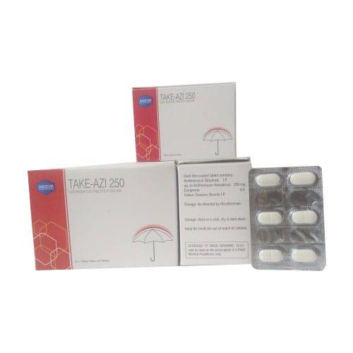 TAKE - AZI 250 Tablets