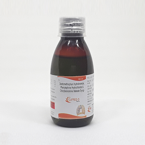 CUFREE-D Syrups