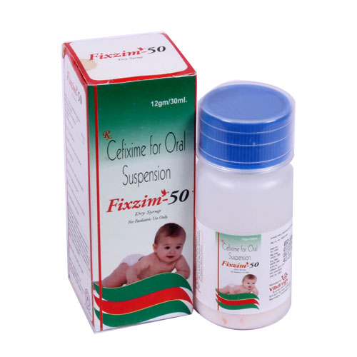 FIXZIM-50 Dry Syrup