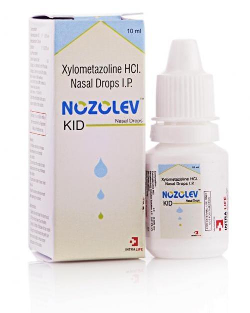NOZOLEV KID NASAL DROPS