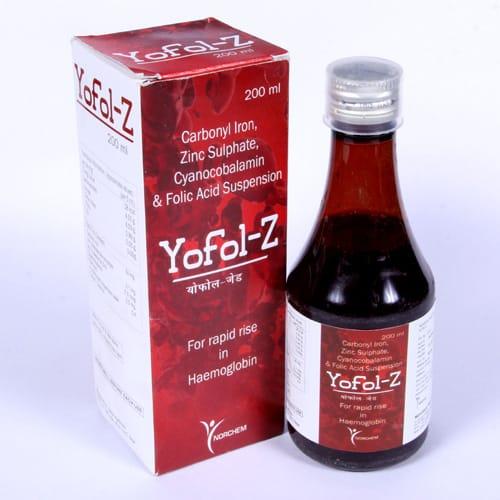 Yofol-Z Syrup
