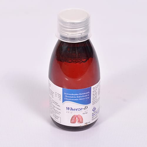 WHEEZE-D Cough Syrup