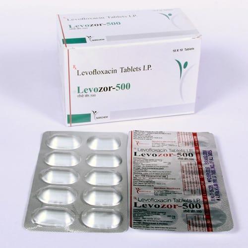 Levozor-500 Tablets