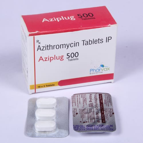 AZIPLUG 500 Tablets