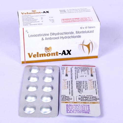 VELMONT- AX Tablets