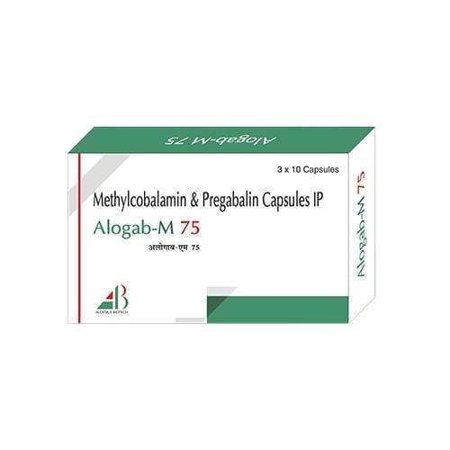 ALOGAB-M-75 Capsules