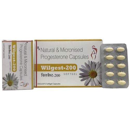 WILGEST-200 SoftGel Capsules