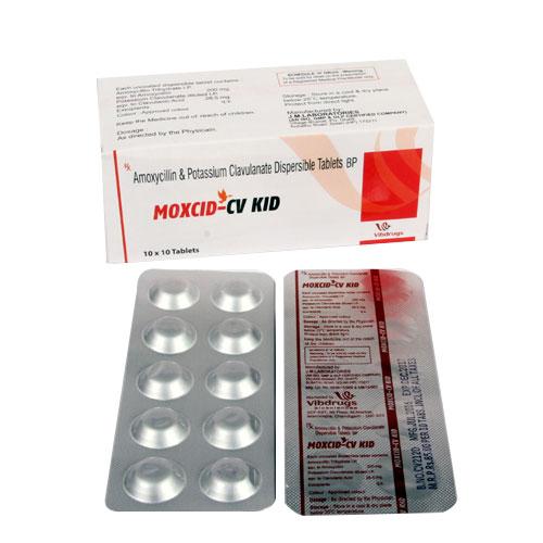 MOXCID-CV KID Tablets