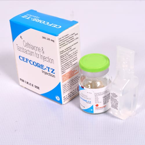 CEFCORE-TZ 281.25 Injection