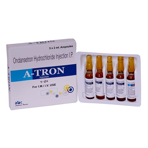 ONDANSETRON HYDROCHLORIDE-2ml Liq. Injection