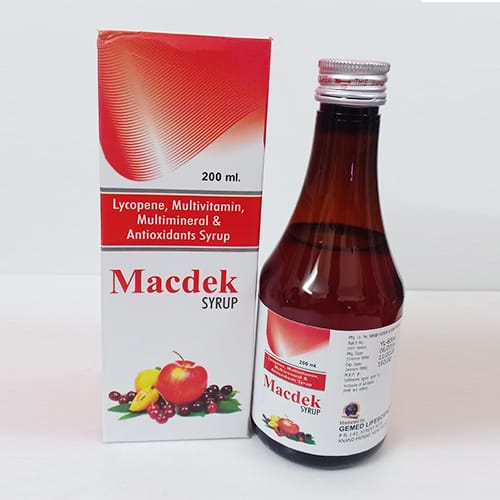 MACDEK Syrup