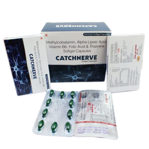 CATCHNERVE Softgel Capsules