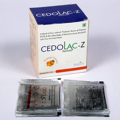 CEDOLAC-Z Sachets