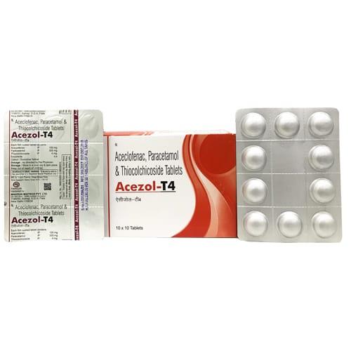 ACEZOL-T4 Tablets