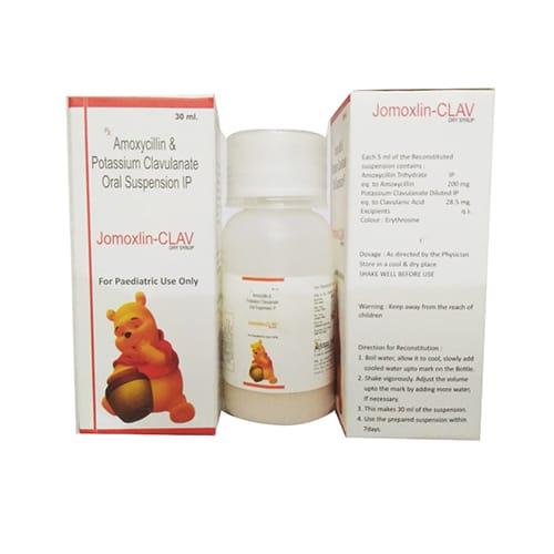 JOMOXLIN - CLAV Dry Syrup
