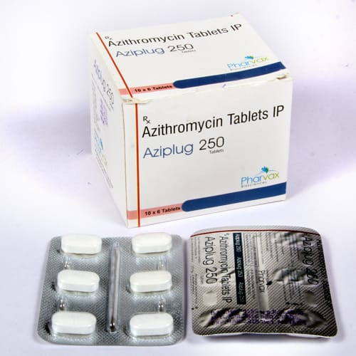 AZIPLUG 250 Tablets