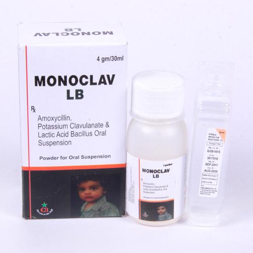 MONOCLAV-LB Dry Syrup