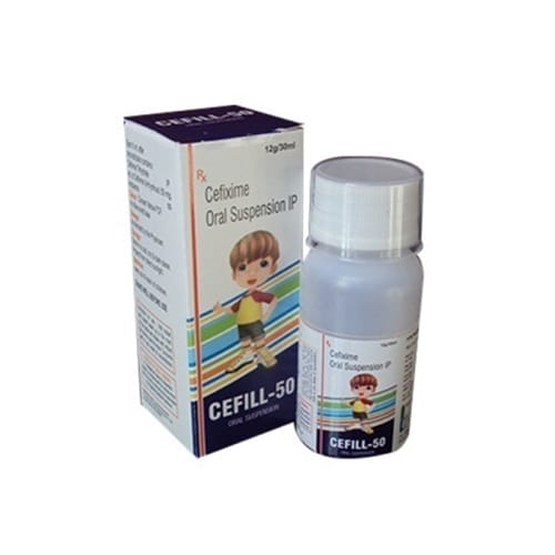 CEFILL 50  DRY SYRUP