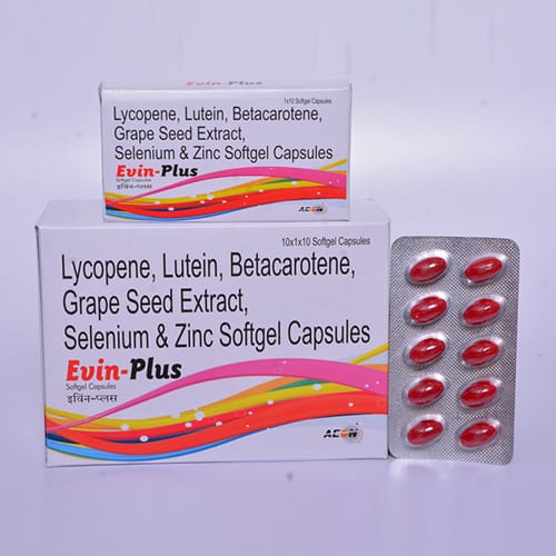 EVIN-PLUS Softgel Capsules