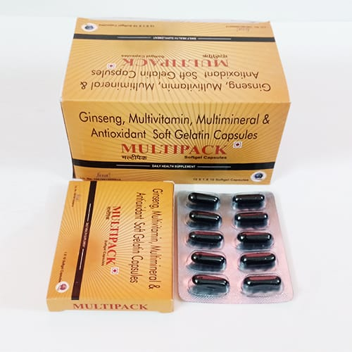 MULTIPACK Softgel Capsules