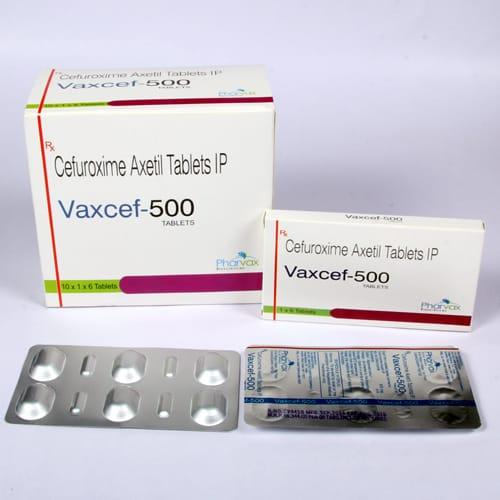 Vaxcef-500 Tablets