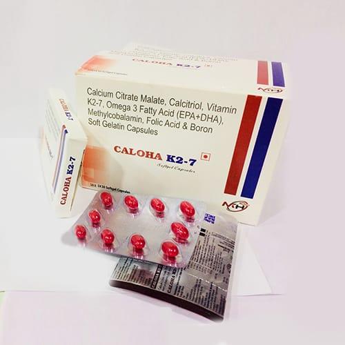 CALOHA-K27 SoftGel Capsules